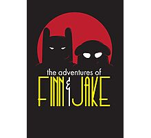The Animated Adventures of Finn and Jake Photographic Print