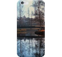 A bridge, the river and reflections | waterscape photography iPhone Case/Skin