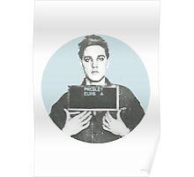 Elvis Mugshot Poster