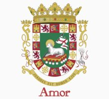 Amor Shield of Puerto Rico by William Martin