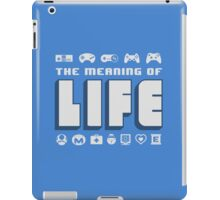 Meaning of Life = Gaming iPad Case/Skin