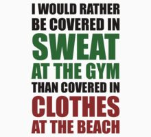 Covered In Sweat At The Gym by BrightDesign
