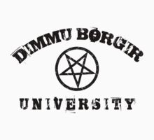 DIMMU BORGIR UNIVERSITY vintage t-shirt 3 by Endlessgrief