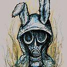 Smoking rabbit by BParsh