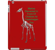 Marius Dissected In Front Of Children At Copenhagen Zoo  T Shirts & Hoodies. ipad & iphone cases iPad Case/Skin