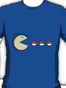 Snorlax Pacman T-Shirt