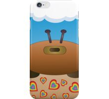 Happy Valentine Crab  iPhone Case/Skin