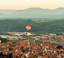 Tübingen Panorama by Mark Bangert