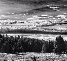 Tatras in clouds by herbertacox