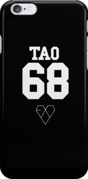 EXO JERSEY (TAO) PHONE CASE by dakotaspine