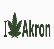0262 I Love Akron by Ganjastan