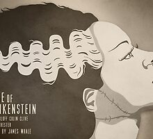 The Bride of Frankenstein by jamesnorthcote