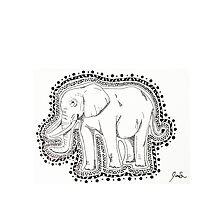 Elephant Praise by JuneShin