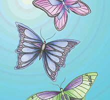 Butterflies flight by ELHaworth