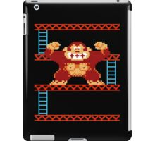 Classic 8 bit monkey  iPad Case/Skin