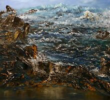Along the Atlantic by David Snider