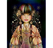 Rainbow Princess Photographic Print