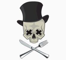 Dead Pancakes skull by zethololo
