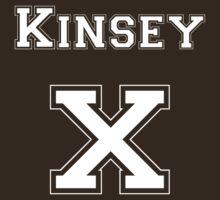 KinseyX - White Lettering by mslanei