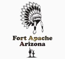 Fort Apache Arizona Tee-shirt and stickers by nhk999