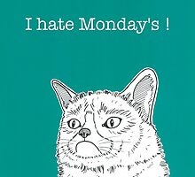 I hate Monday's ! by Adam Regester