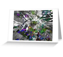 His Fate Is Sealed Greeting Card