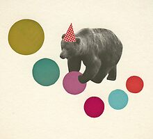Birthday Bear by Cassia