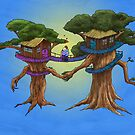 Treehouse in Love by Stuart Hogton
