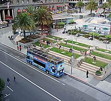 Union Square San Francisco , Oasis  by printerbill
