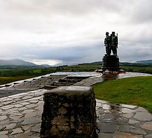 Commando Monument by English Landscape Prints