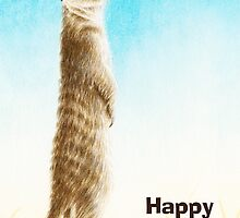 Meerkat Birthday Card by Lorna Mulligan
