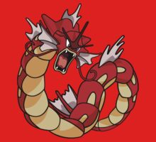 Red Gyarados HD by Art-Maniacs