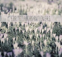 Earth laughs in flowers by Pascal Deckarm