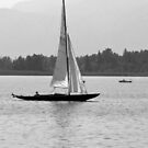 Historic Sailboat by Bine
