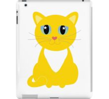 Only One Kitty With Multi-colored Whiskers iPad Case/Skin