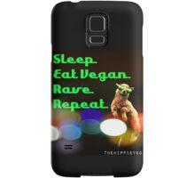 Vegan rave Samsung Galaxy Case/Skin