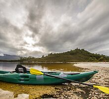 Lake Peddler, Tasmania - Australia by Kellie Netherwood