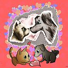 Valentines Pets - Love by OliverDemers