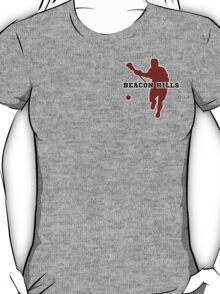 Beacon Hills High - Lacrosse (chest) T-Shirt