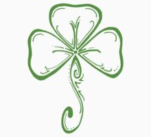 St. Patricks Day Ornate Shamrock  by MrP1ckles