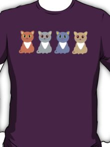 Only Four Cats T-Shirt