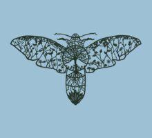 Hawk Moth Paper-Cut  Kids Clothes