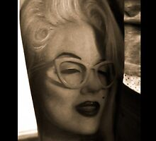 Marilyn Monroe Tattoo by NickCacc