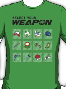 Select Your Weapon T-Shirt