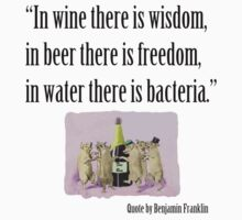In Wine There Is Wisdom by Brenda Moseley