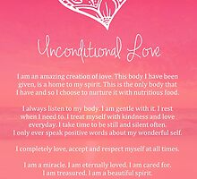 Affirmation ~ Unconditional Love by CarlyMarie