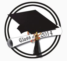 Class of 2014 - Grad Cap with Diploma by Gravityx9