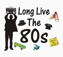 Long Live The 80s Culture by FireFoxxy