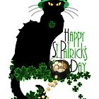 St Patrick's Day - Le Chat Noir by Gravityx9