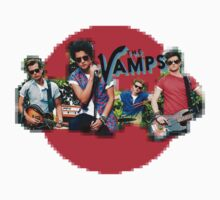 The Vamps - Red Circle by Hailey Rankin